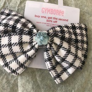 NWT gymboree imaginary friends plaid hair barrette